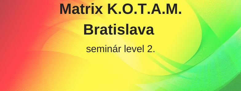 level 2 - Matrix K.O.T.A.M., Bratislava