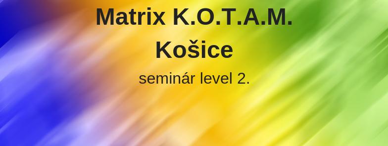 level 2 - Matrix K.O.T.A.M., Košice