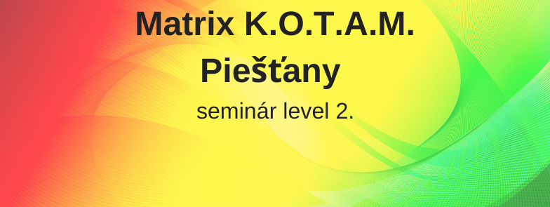 level 2 - Matrix K.O.T.A.M., Piešťany