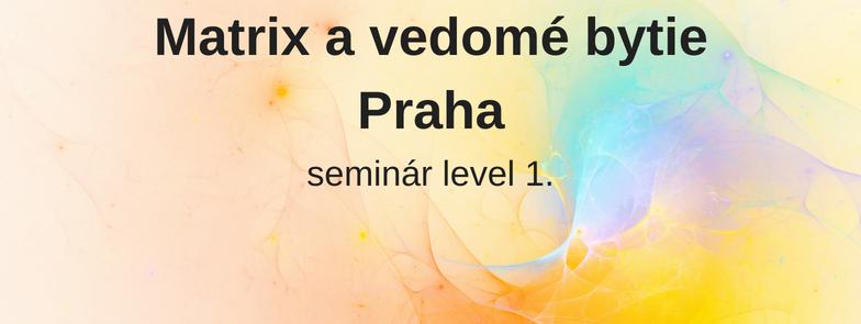 level 1 - Matrix a vedomé bytie, Praha